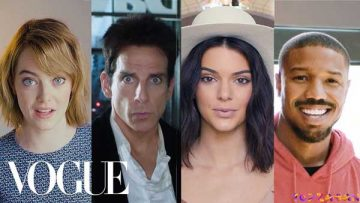 مجموعه 73 سوال مجله Vogue با زیرنویس انگلیسی