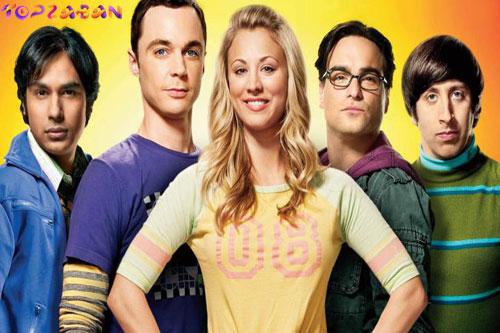 بهترین سریال ها برای یادگیری زبان انگلیسی - تئوری بیگ بنگ