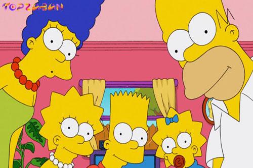 بهترین سریال ها برای یادگیری زبان انگلیسی - سیمپسون ها