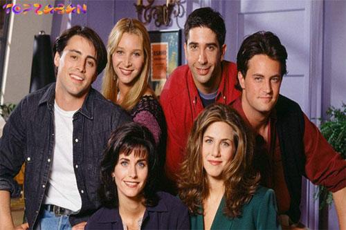بهترین سریال ها برای یادگیری زبان انگلیسی - سریال دوستان یا فرندز