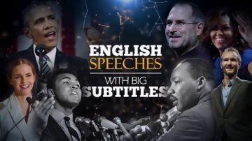 20 سخنرانی انگلیسی برای تقویت زبان
